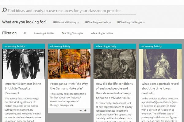 EUROCLIO and Europeana: building better resources for teaching history