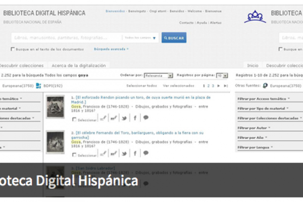 Biblioteca Digital Hispánica