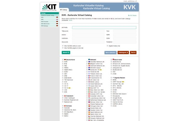 Karlsruhe Virtual Catalog