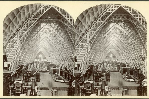 Vintage stereoscope cards