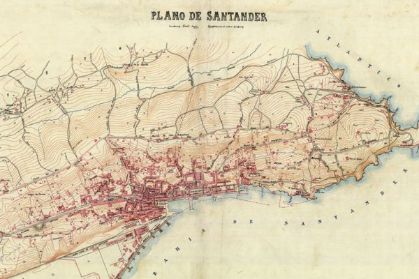 Military maps and drawings from the Spanish Ministry of Defence