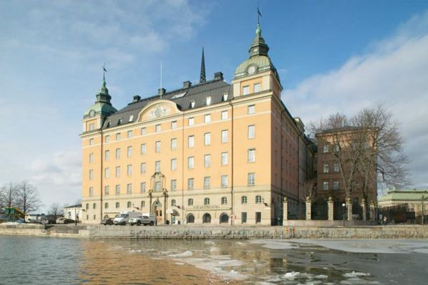 Photographs of Swedish historical buildings