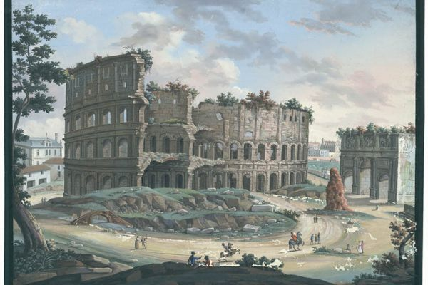Historical views and landscapes of Europe from the Austrian National Library