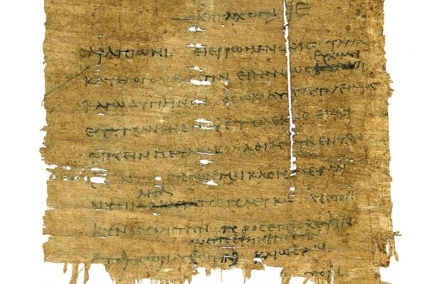 Papyrus fragments from the Universitäts- bibliothek Heidelberg