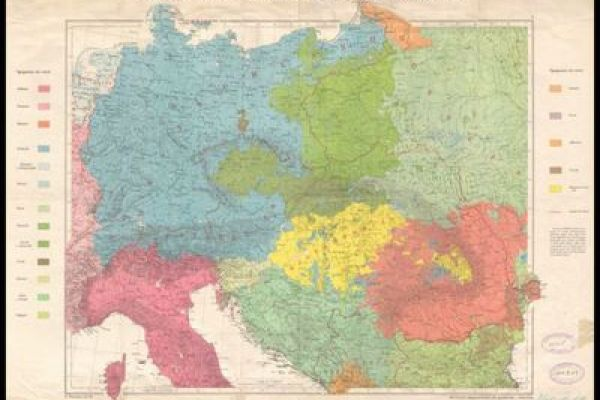 Maps of the First World War from the National Library of Rome - Italy