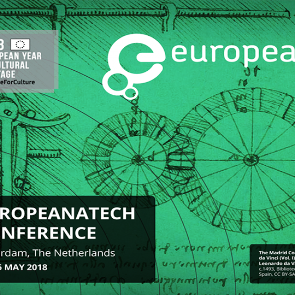 EuropeanaTech 2018 - Our keynote speakers - part one