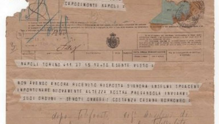 Manuscript documents of the Italian War Ministry - First World War